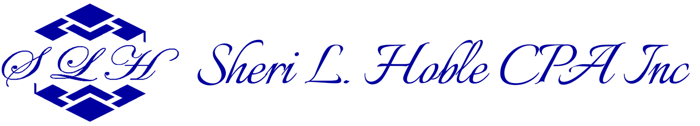Sheri L. Hoble CPA, Inc. Logo